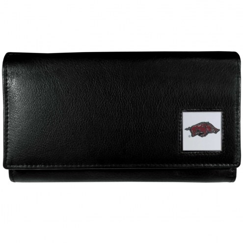 Arkansas Razorbacks Leather Women's Wallet