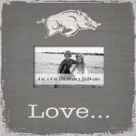 Arkansas Razorbacks Love Picture Frame