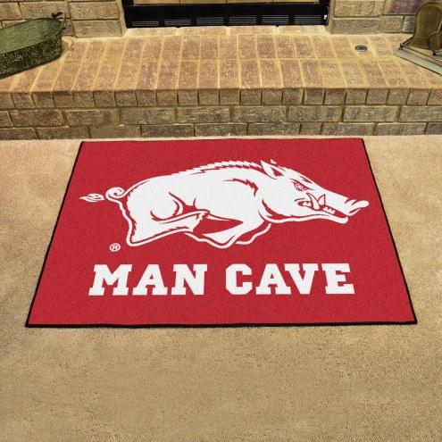 Arkansas Razorbacks Man Cave All-Star Rug