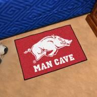 Arkansas Razorbacks Man Cave Starter Mat