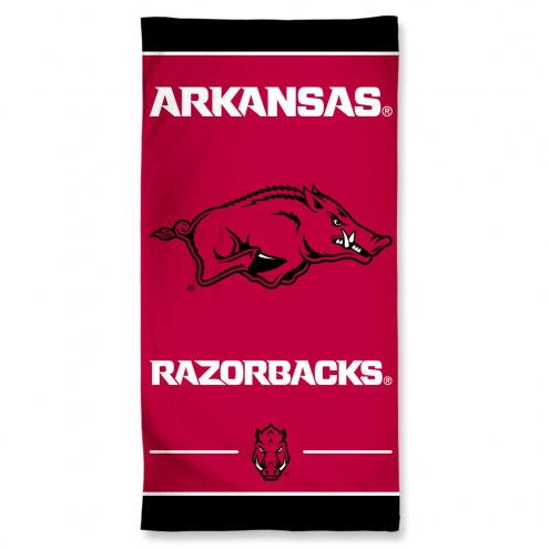Arkansas Razorbacks McArthur Beach Towel