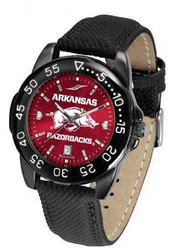 Arkansas Razorbacks Men's Fantom Bandit AnoChrome Watch