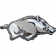 Arkansas Razorbacks Metal Car Emblem