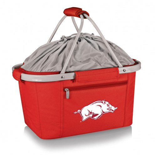 Arkansas Razorbacks Metro Picnic Basket