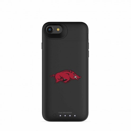 Arkansas Razorbacks mophie iPhone 8/7 Juice Pack Air Black Case