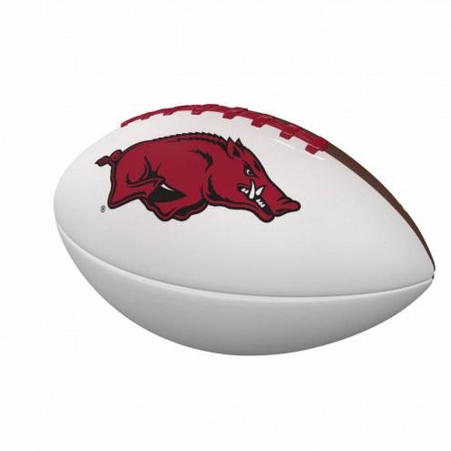 Arkansas Razorbacks Full Size Autograph Football