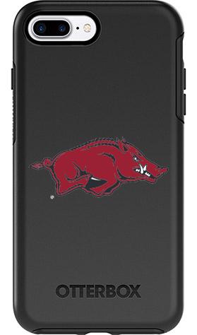 Arkansas Razorbacks OtterBox iPhone 8 Plus/7 Plus Symmetry Black Case