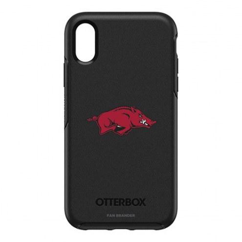 Arkansas Razorbacks OtterBox iPhone XR Symmetry Black Case