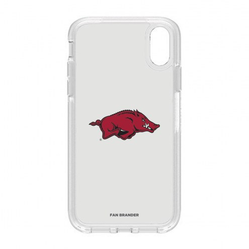 Arkansas Razorbacks OtterBox iPhone XR Symmetry Clear Case