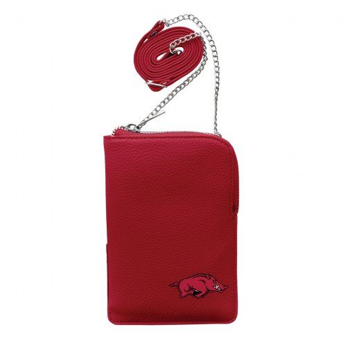 Arkansas Razorbacks Pebble Smart Purse