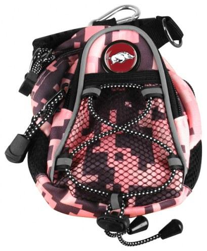 Arkansas Razorbacks Pink Digi Camo Mini Day Pack