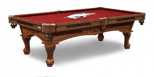 Arkansas Razorbacks Pool Table