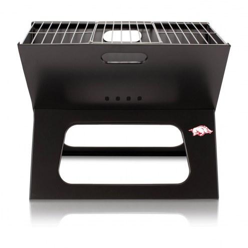 Arkansas Razorbacks Portable Charcoal X-Grill