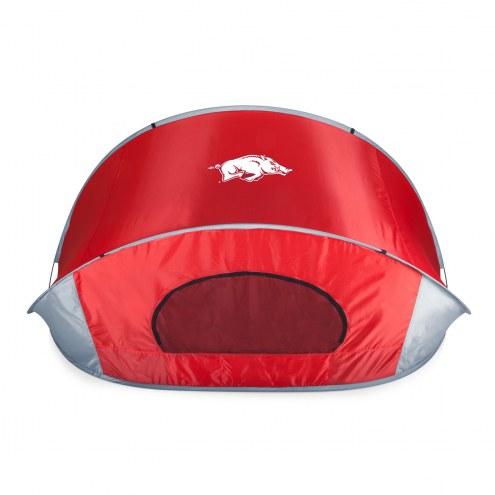 Arkansas Razorbacks Red Manta Sun Shelter