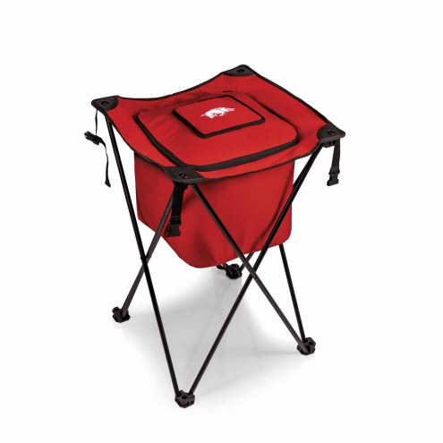 Arkansas Razorbacks Red Sidekick Portable Cooler