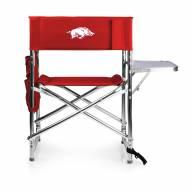 Arkansas Razorbacks Red Sports Folding Chair