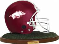 Arkansas Razorbacks Collectible Football Helmet Figurine