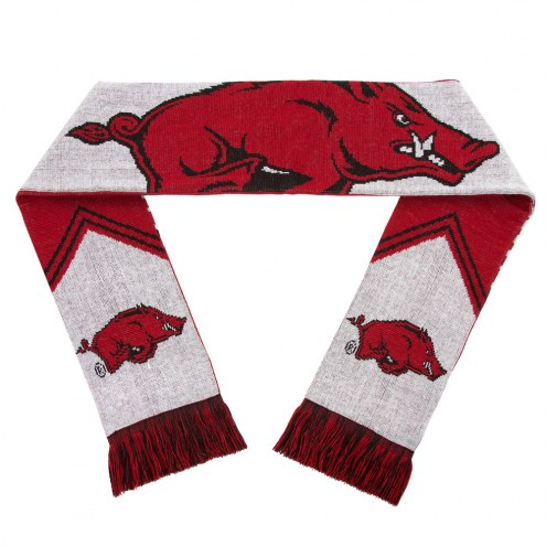 Arkansas Razorbacks Reversible Stripe Scarf