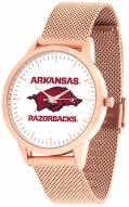 Arkansas Razorbacks Rose Mesh Statement Watch