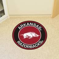 Arkansas Razorbacks Rounded Mat