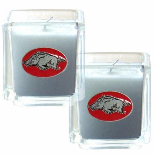Arkansas Razorbacks Scented Candle Set