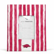 Arkansas Razorbacks School Stripes Picture Frame