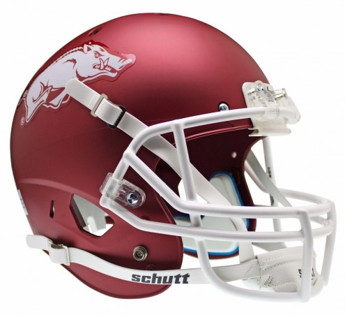 Arkansas Razorbacks Schutt XP Authentic Full Size Football Helmet