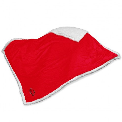 Arkansas Razorbacks Sherpa Blanket