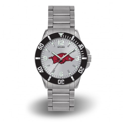 Arkansas Razorbacks Sparo Men's Key Watch