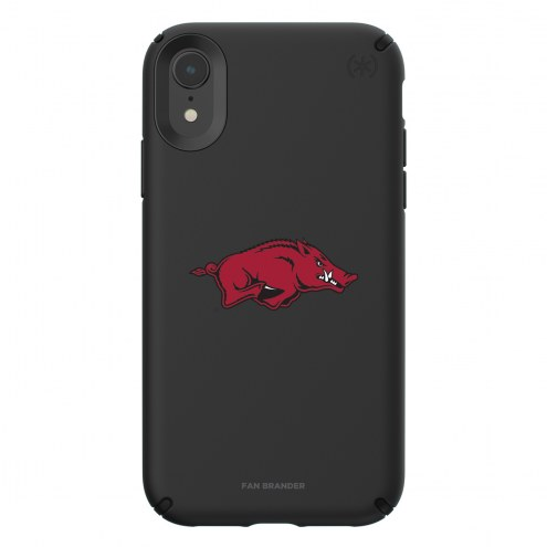 Arkansas Razorbacks Speck iPhone XR Presidio Pro Black Case