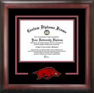 Arkansas Razorbacks Spirit Diploma Frame