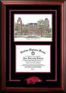 Arkansas Razorbacks Spirit Graduate Diploma Frame