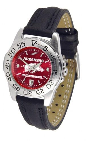 Arkansas Razorbacks Sport AnoChrome Women's Watch