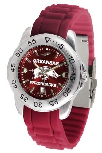 Arkansas Razorbacks Sport Silicone Men's Watch