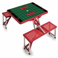 Arkansas Razorbacks Sports Folding Picnic Table