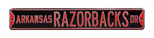 Arkansas Razorbacks Street Sign