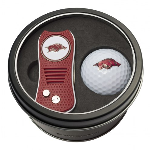 Arkansas Razorbacks Switchfix Golf Divot Tool & Ball