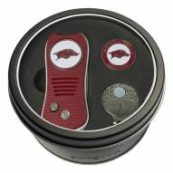 Arkansas Razorbacks Switchfix Golf Divot Tool, Hat Clip, & Ball Marker