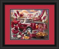 Arkansas Razorbacks Tailgate Framed Print