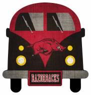 Arkansas Razorbacks Team Bus Sign