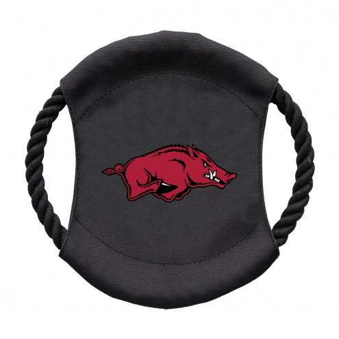 Arkansas Razorbacks Team Frisbee Dog Toy