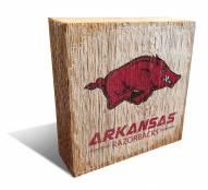 Arkansas Razorbacks Team Logo Block