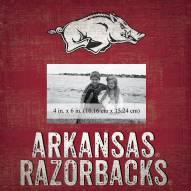 "Arkansas Razorbacks Team Name 10"" x 10"" Picture Frame"