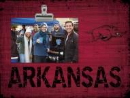 Arkansas Razorbacks Team Name Clip Frame