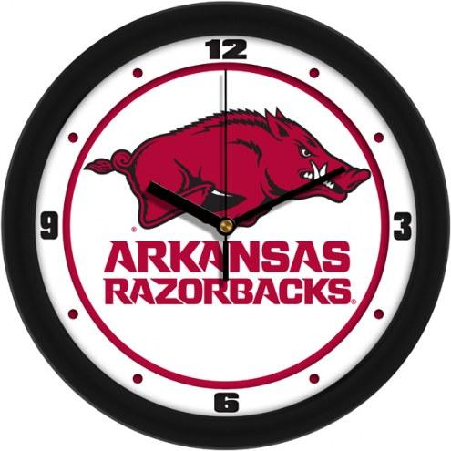 Arkansas Razorbacks Traditional Wall Clock