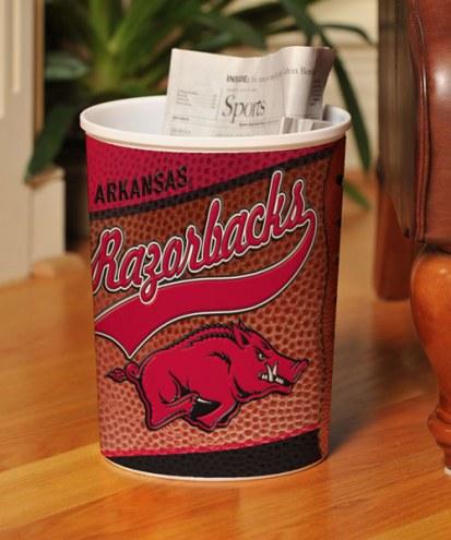 Arkansas Razorbacks Trash Can