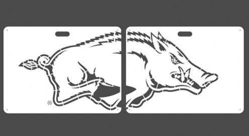 Arkansas Razorbacks Lawn Stencil