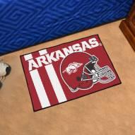 Arkansas Razorbacks Uniform Inspired Starter Rug
