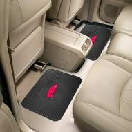 Arkansas Razorbacks Vinyl 2-Piece Rear Floor Mats