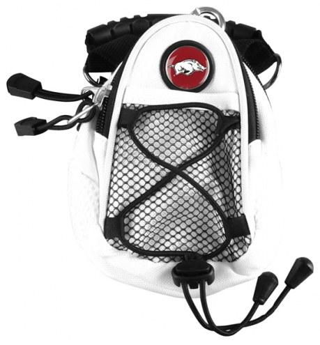 Arkansas Razorbacks White Mini Day Pack